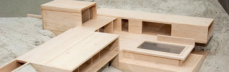 Maquete - Mestrado Integrado em Arquitetura e Urbanismo